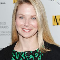 FILE- In this Monday, April 19, 2010 file photo, Google vice president of search products and user experience, Marissa Mayer, attends the 2010 Matrix Awards presented by the New York Women in Communications at the Waldorf-Astoria Hotel in New York. Yahoo has closed a $7.6 billion deal that includes selling half its stake in rapidly growing Chinese company Alibaba Group. The resolution announced Tuesday, Sept. 18, 2012 comes four months after Yahoo Inc. and Alibaba outlined the details of the complex deal. Back in May, Yahoo pledged to distribute most of the Alibaba windfall to its shareholders. But after making that promise Yahoo hired longtime Google Inc. executive Marissa Mayer to its CEO. Last month, Yahoo revealed Mayer is considering holding on to the money. (AP Photo/Evan Agostini, File)