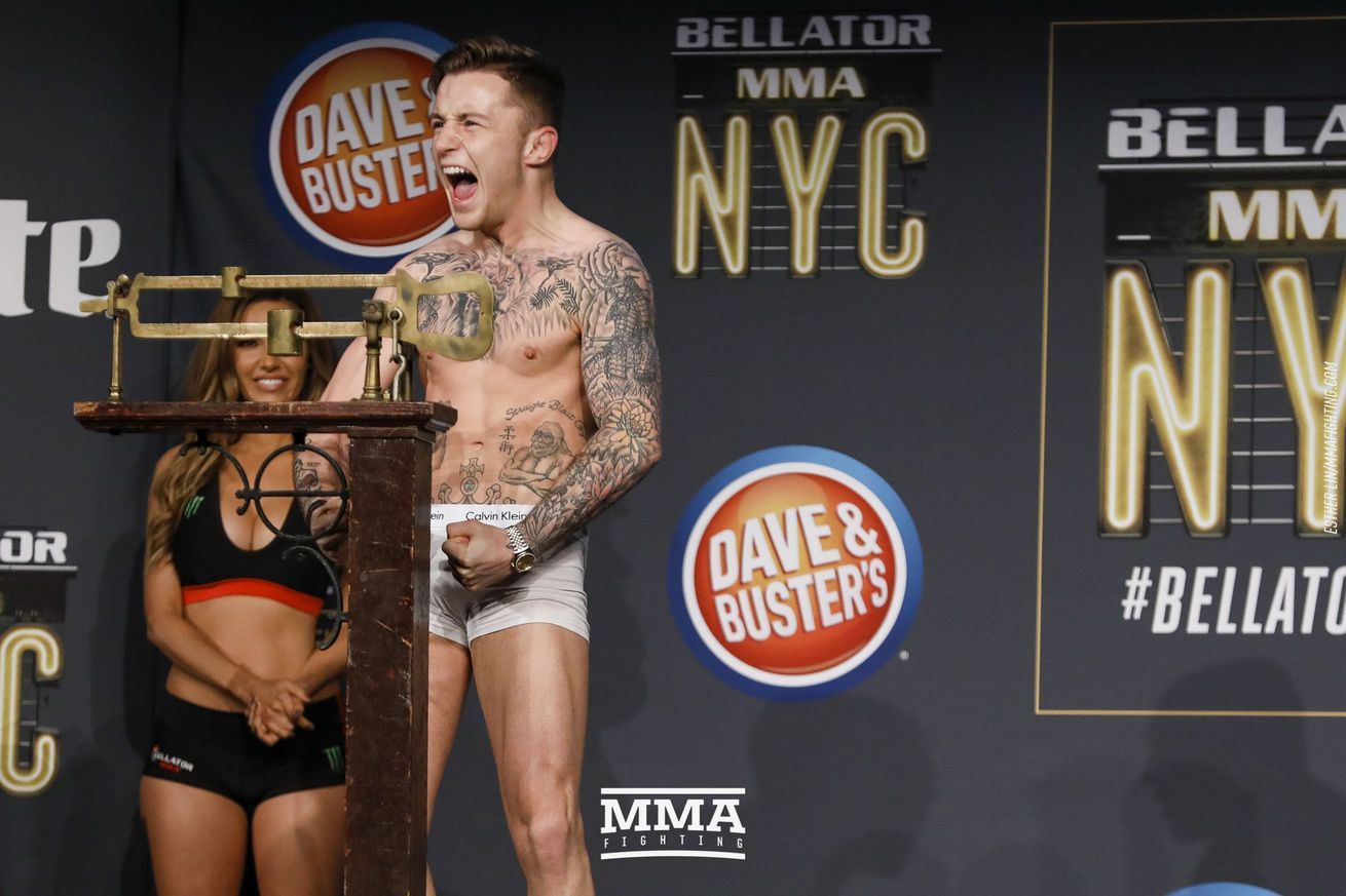 community news, James Gallagher to meet Jeremiah Labiano in Bellator Dublin main event