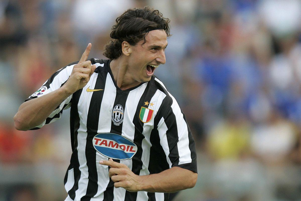 Juventus' forward Zlatan Ibrahimovic of