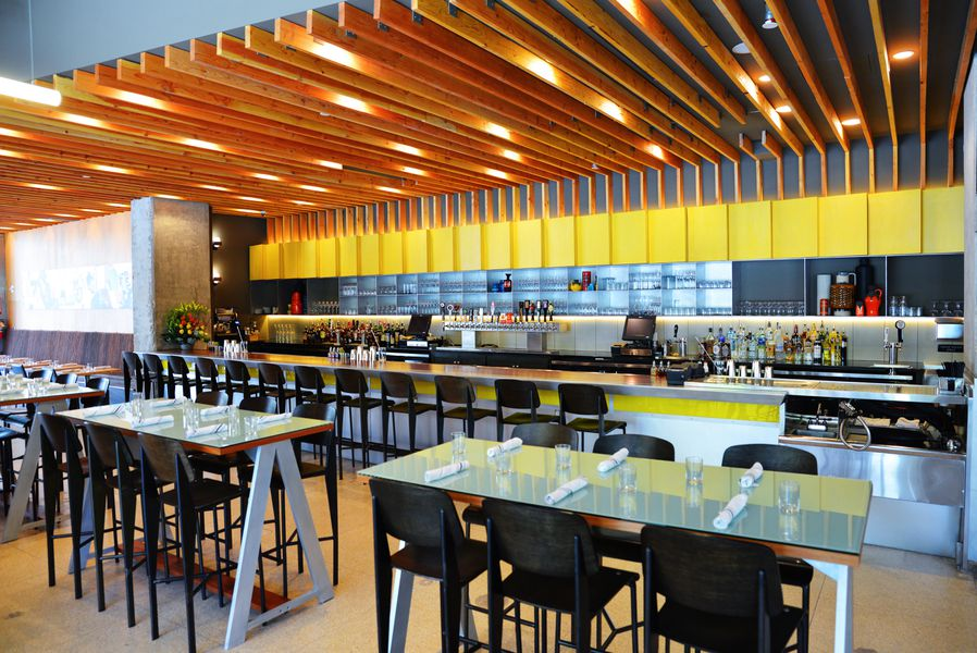 all photos robert j lermaeatx - Midcentury Restaurant Interior