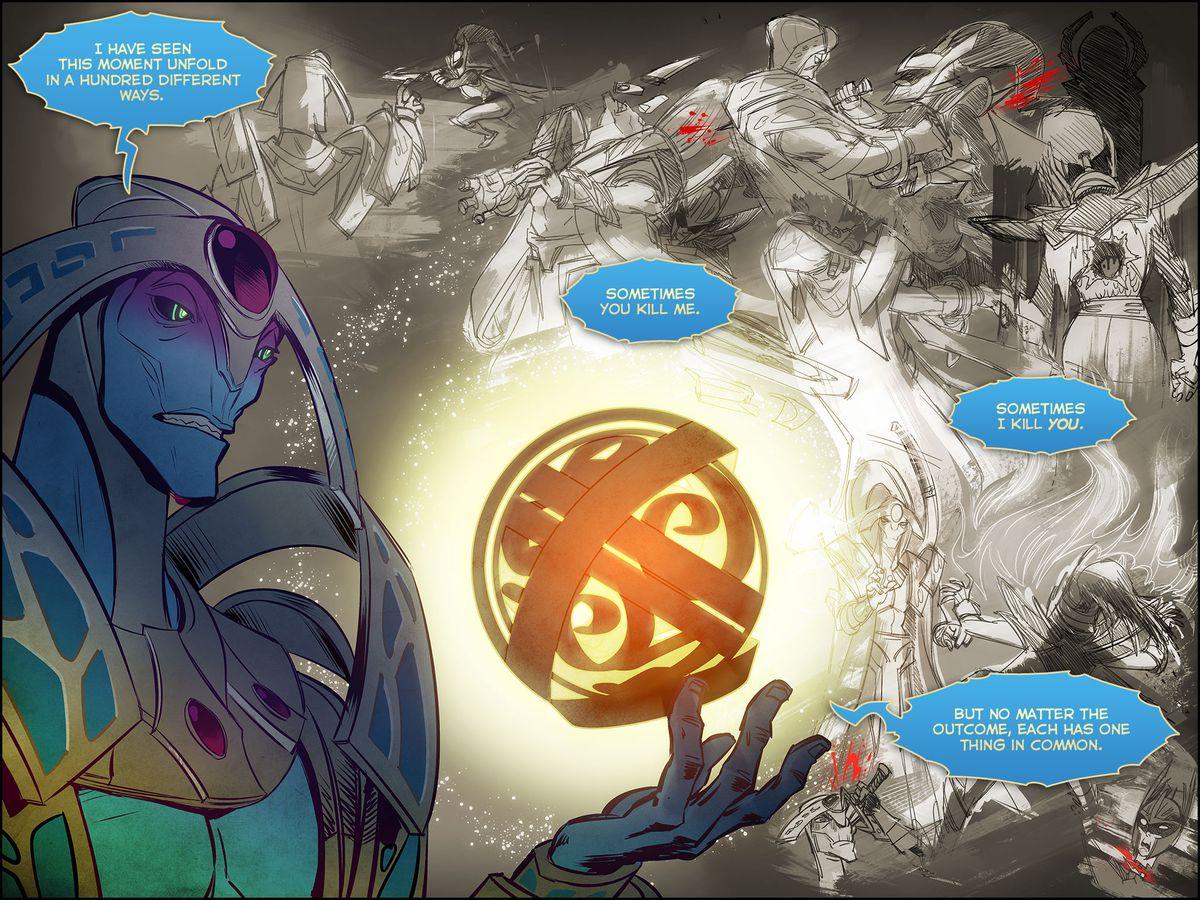 dota 2 oracle comic screen 2