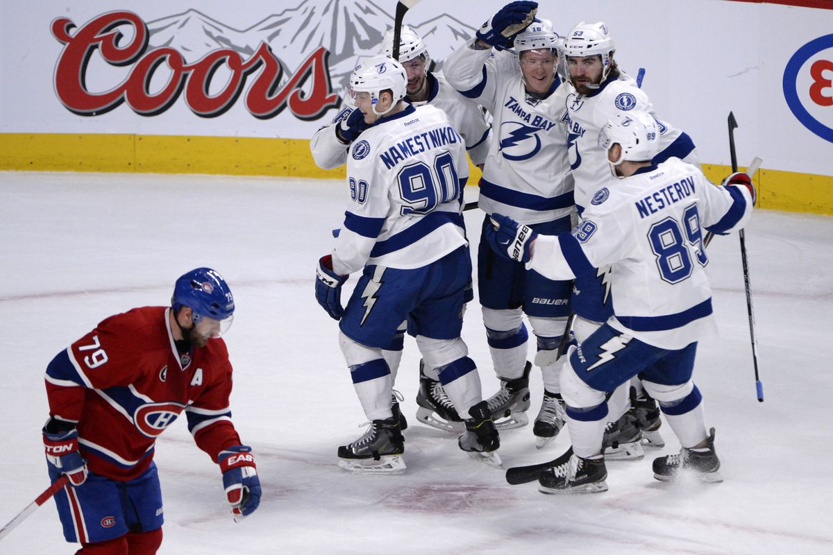 Habs vs Lightning Top Six Minutes: An exercise in futility