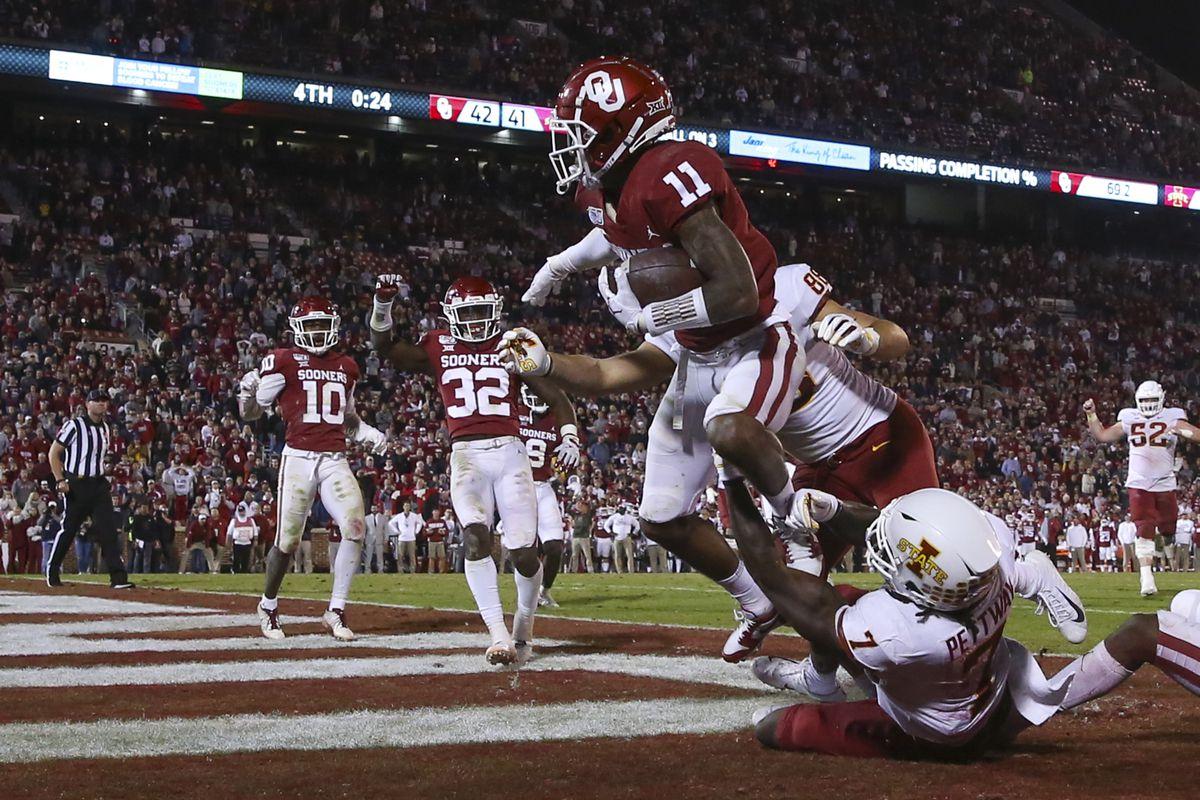 Oklahoma Football Recap: OU survives a late Iowa State ...Oklahoma Football