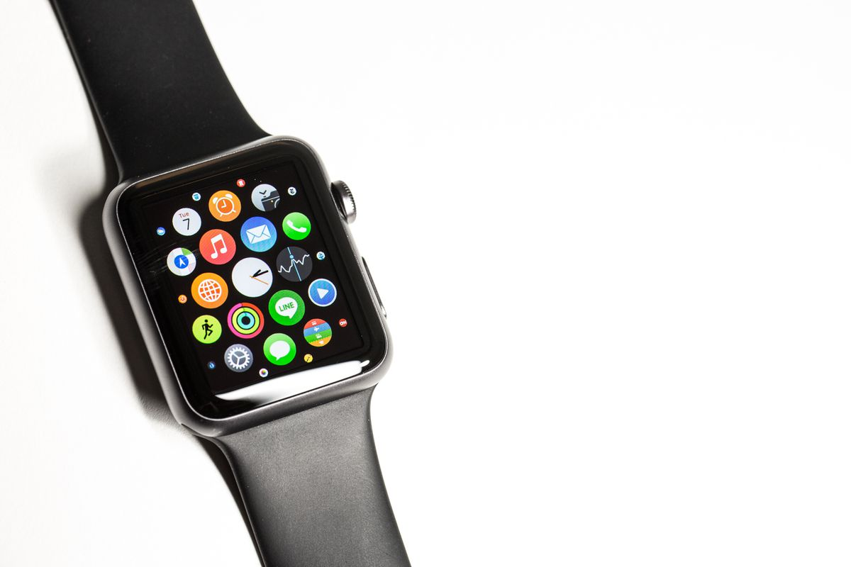 The watch's smaller screen presents some challenges when using certain apps.