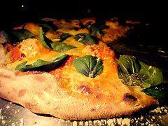 Lucali's pizza, <em> by ##http://www.flickr.com/photos/justbecause/456143959/##dizznbonn##</em>
