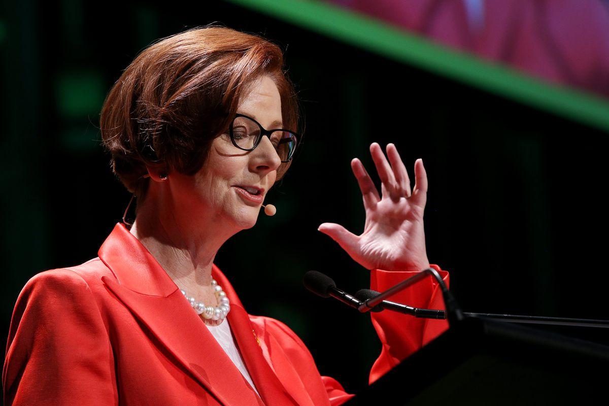 Julia Gillard Speaks On Mental Health At City of Sydney CityTalks