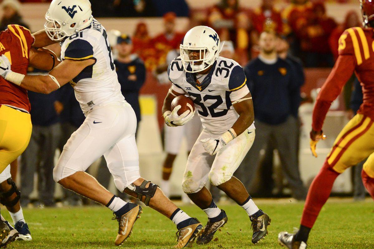 NCAA Football: West Virginia at Iowa State