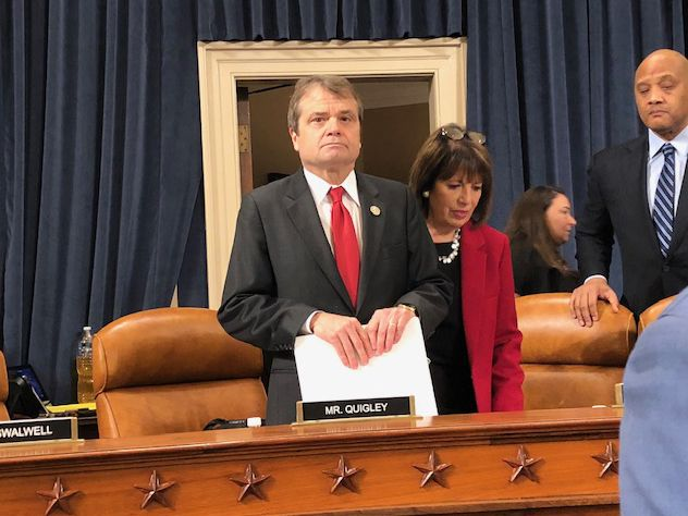 """Rep. Mike Quigley, D-Ill., raised concerns about a """"pattern of witness intimidation"""" Sunday on CBS' """"Face the Nation."""""""