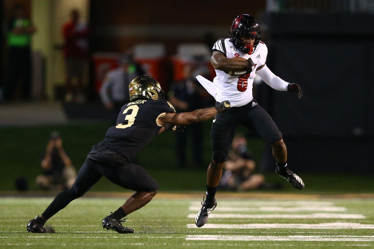 NCAA Football: Louisville at Wake Forest