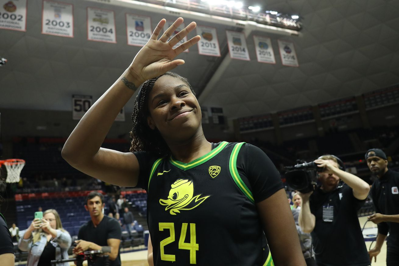 NCAA Womens Basketball: Oregon at Connecticut