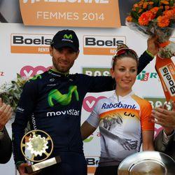 The 2014 Flèche Wallonne winners
