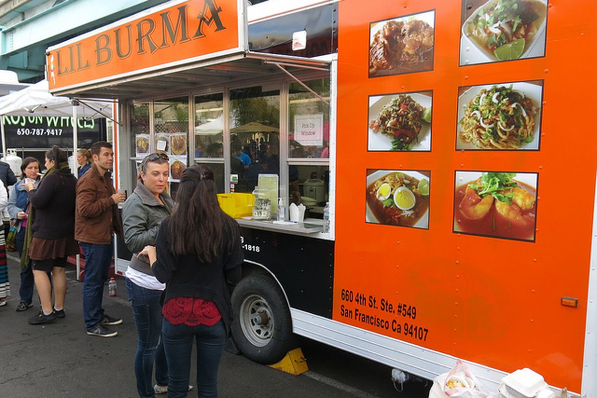 Apple Pay Aims at Food Trucks With New Mobile Payment Device - Eater SF