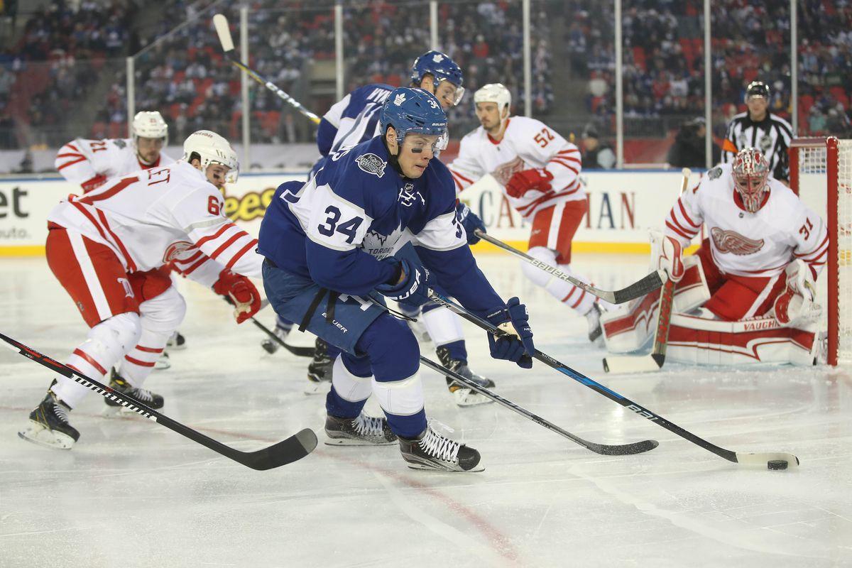 7fcad4eb0 Game #7 Preview: Maple Leafs host Red Wings in their first meeting of the  season