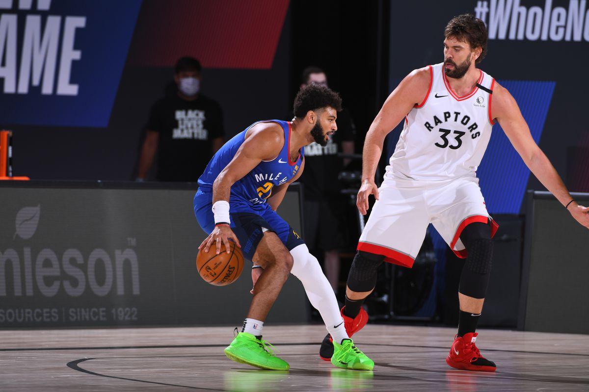 Denver Nuggets v Toronto Raptors