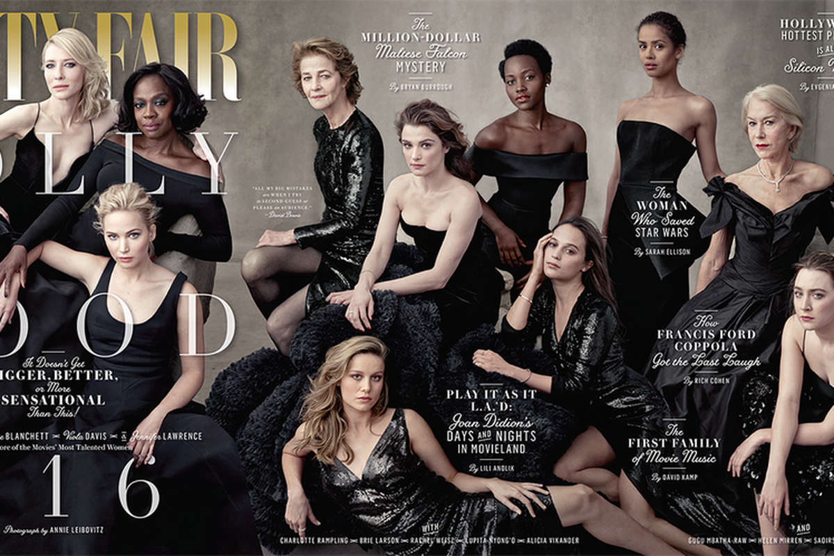 Vanity Fair Made A Powerful Statement On The Cover Of Its