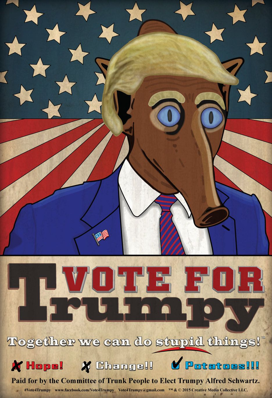 Vote for Trumpy poster.