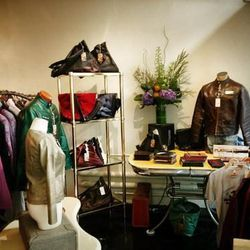 """Next, stroll over to <strong>Metis Makers</strong> at <strong>1314 Grant Avenue</strong>. The shop, which opened last fall, is a joint retail venture from six 25th Street Collective labels: <strong><a href=""""http://platinumdirt.com/"""">Platinum Dirt</a></str"""