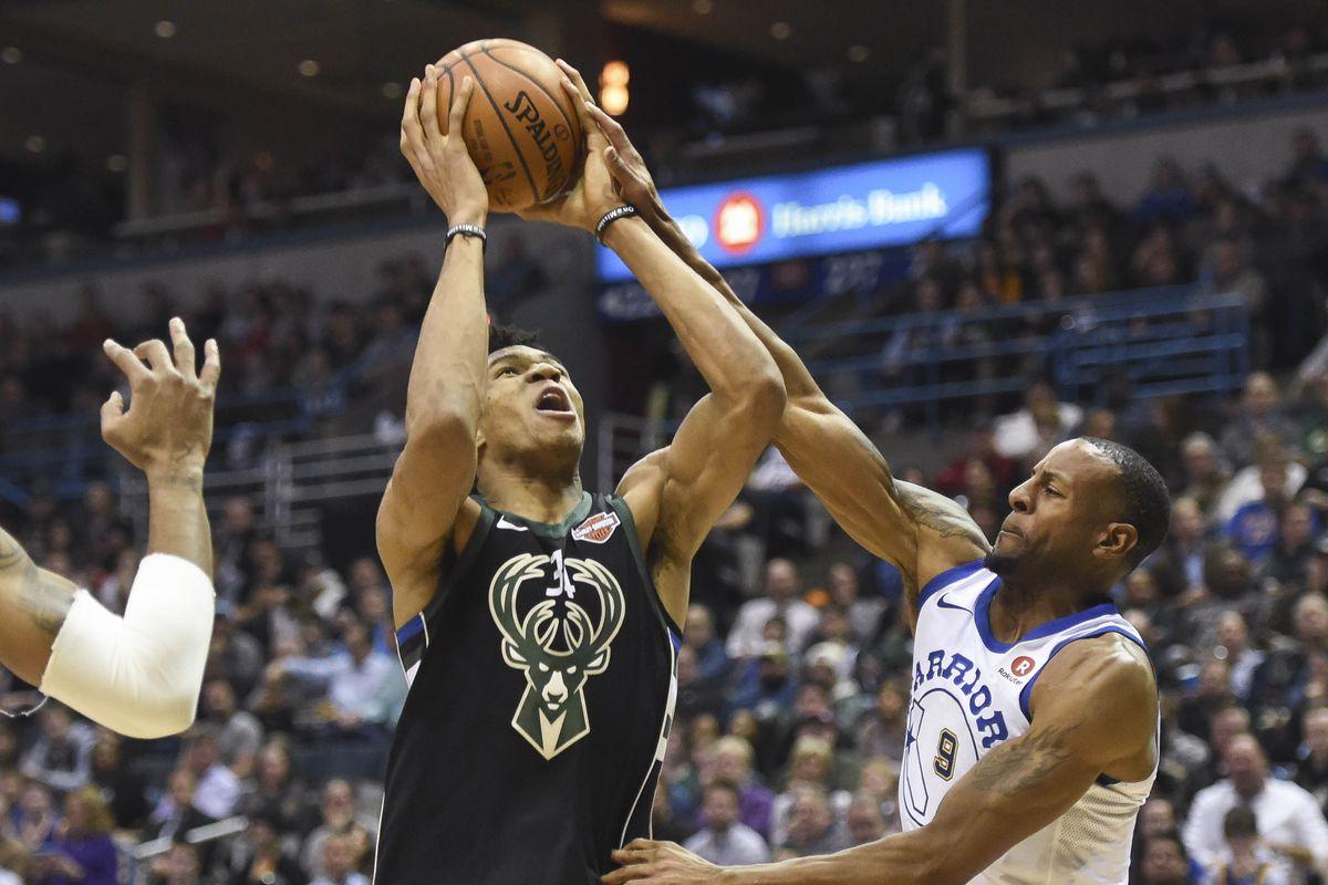 NBA: Golden State Warriors at Milwaukee Bucks