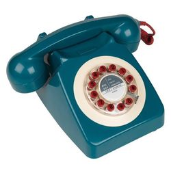 Retro British Telephone ($60) - Who said landlines are out? This replica 1967 British telephone (with a few modern additions) is so in!