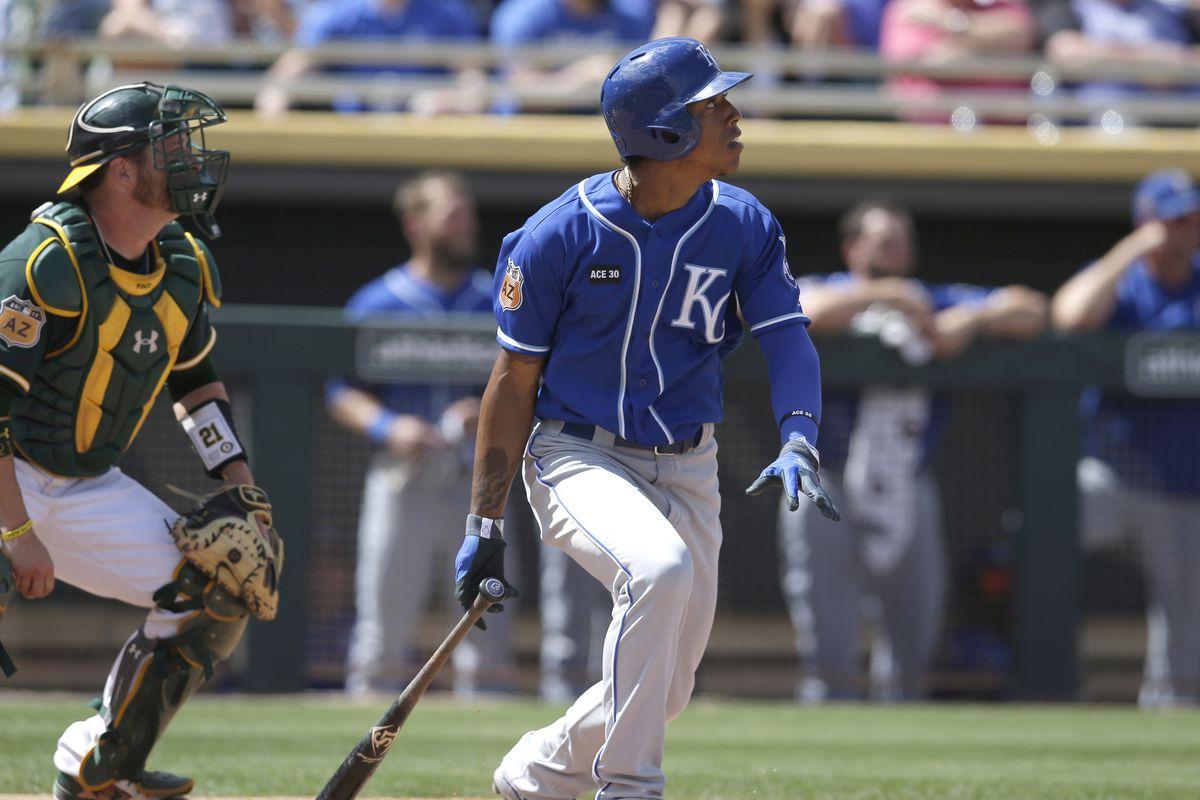 MLB: Spring Training-Kansas City Royals at Oakland Athletics