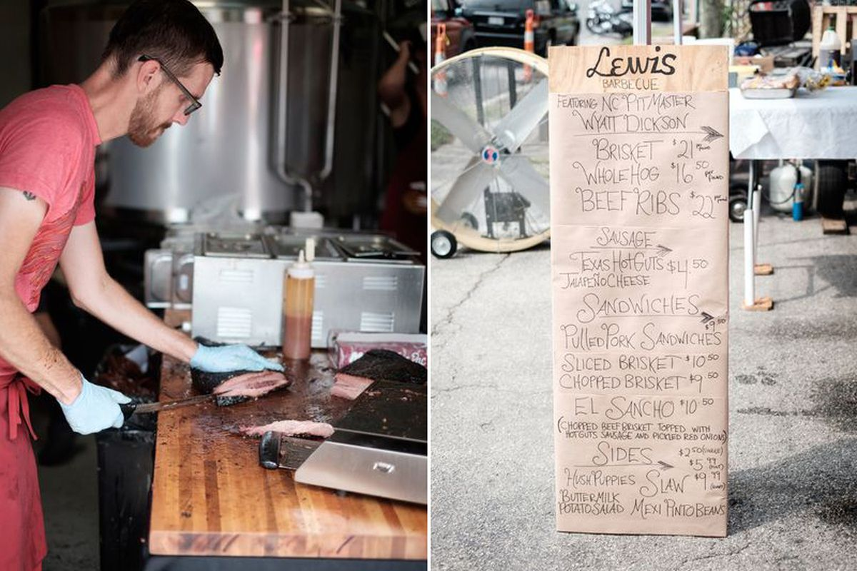 Lewis Barbecue Pop-Up