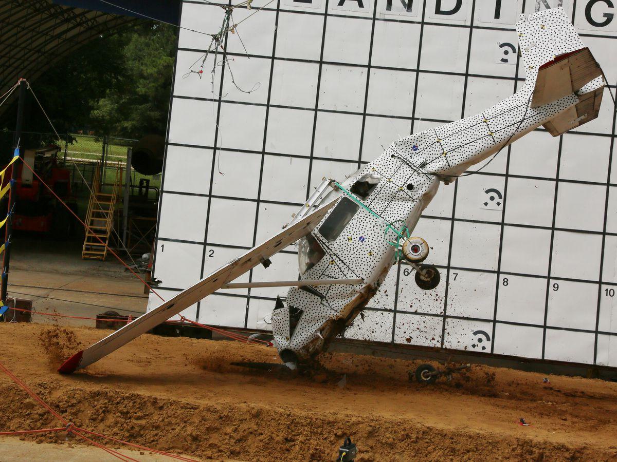 NASA crash test