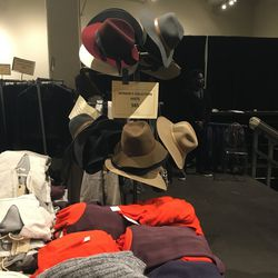 Women's hats ($85) and sweaters ($135)