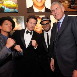 Bruno Mars, Mark Wahlberg, Philip Lawrence, Lyor Cohen