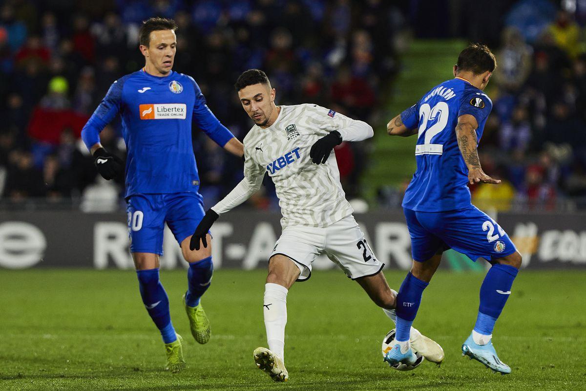 Getafe CF v FK Krasnodar: Group C - UEFA Europa League