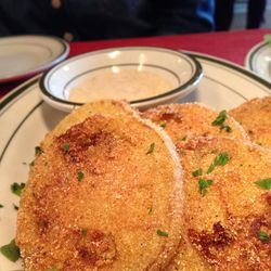 """Fried Green Tomatoes at Beehive Oven by <a href=""""https://www.flickr.com/photos/polsia/14907446291/"""">Polsia"""