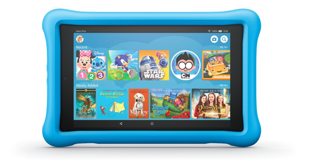 Fire hd 8 kids edition front
