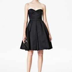 """<a href=""""http://usa.frenchconnection.com/product/woman+Collections+sale/71ANF/Duchess+Divine+Strapless+Dress.htm"""">Duchess Divine Strapless Dress</a>, $174.99 (was $378)"""