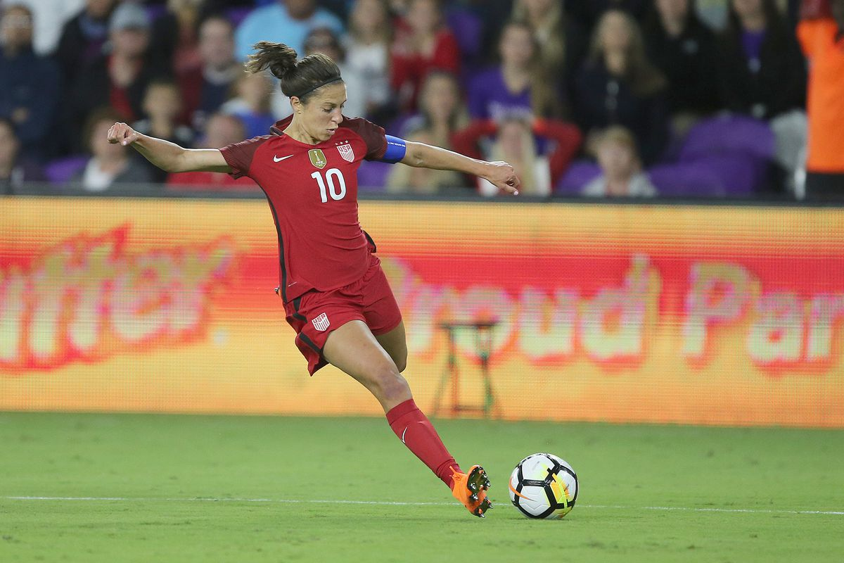 Carli Lloyd Named To U S Wnt Training Camp Roster For Friendlies
