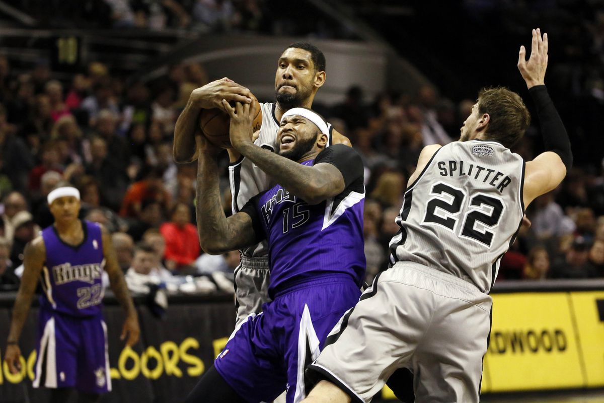 Even though it looks like it here, Tim Duncan is NOT a bully.