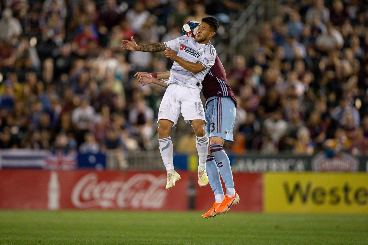 MLS: Los Angeles FC at Colorado Rapids