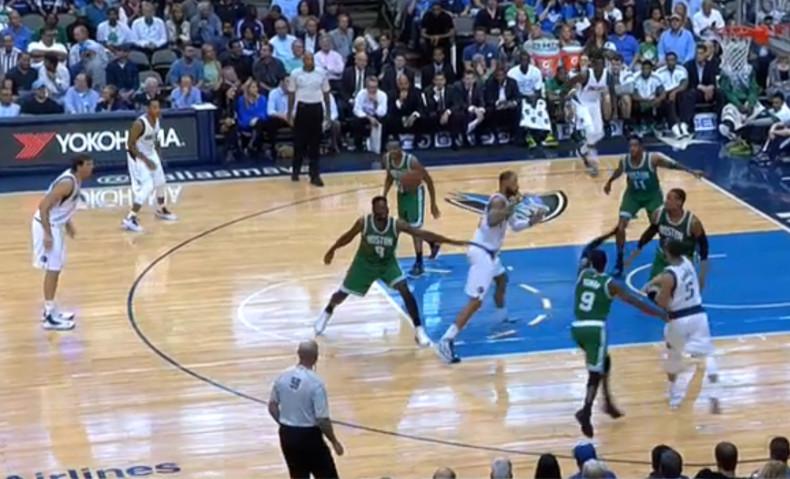 P&R 3 Mavs Celtics
