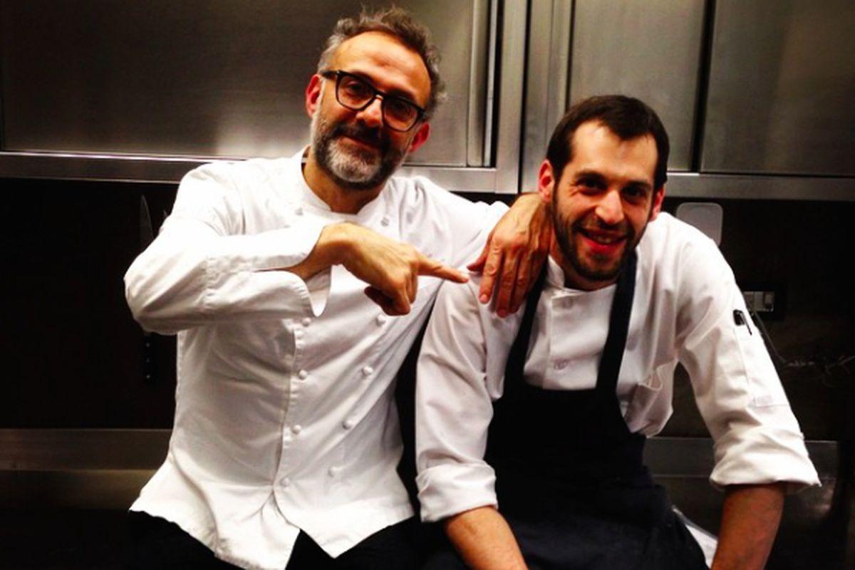 Chef de Cuisine Daniel Wolinsky & Massimo Bottura