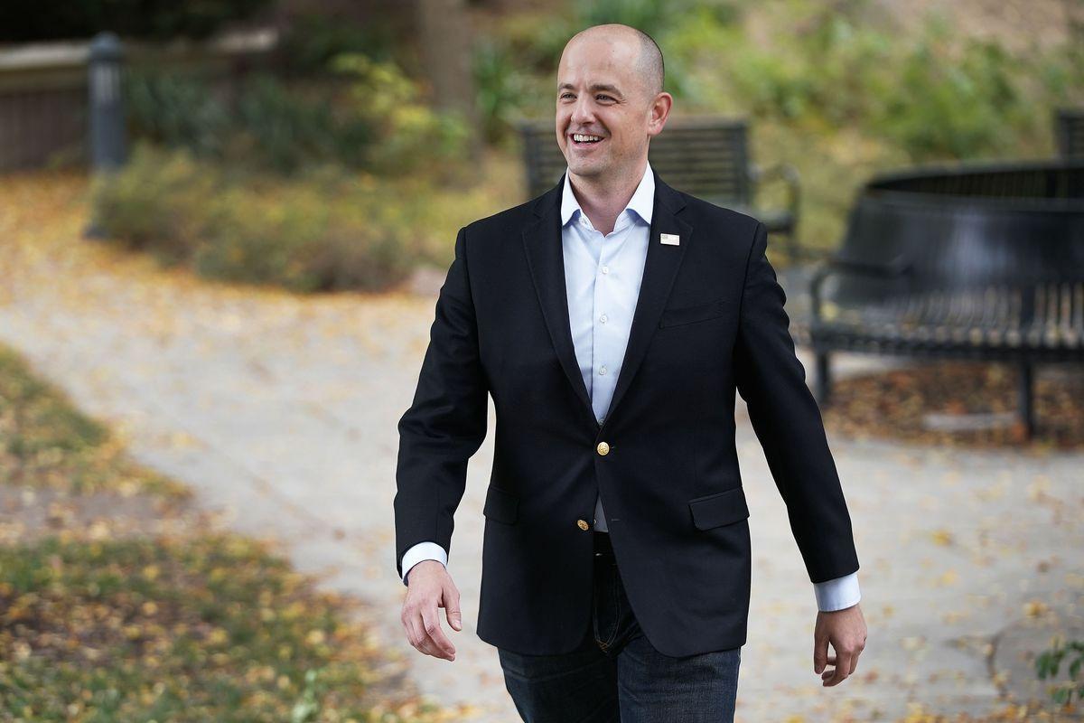 Utah Senate candidate Evan McMullin.