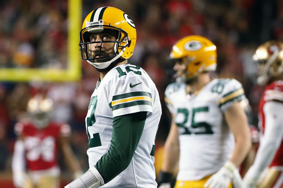 Aaron Rodgers Bummed By Jordan Love Selection But Has No Ill Will Toward Packers Acme Packing Company