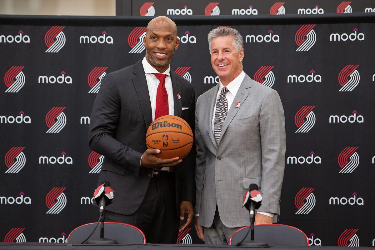 Portland Trail Blazers Introduce Chauncey Billups as Head Coach Press Conference