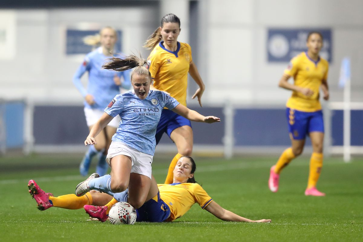 Manchester City v Everton Women - FA Continental League Cup - Group Stage One - Academy Stadium