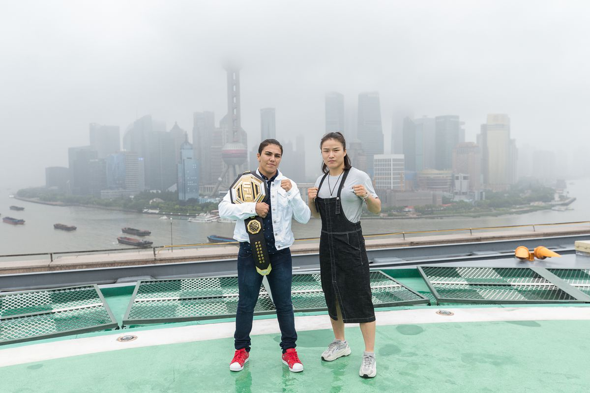 UFC - Jessica Andrade v Zhang Weili Media Opportunity