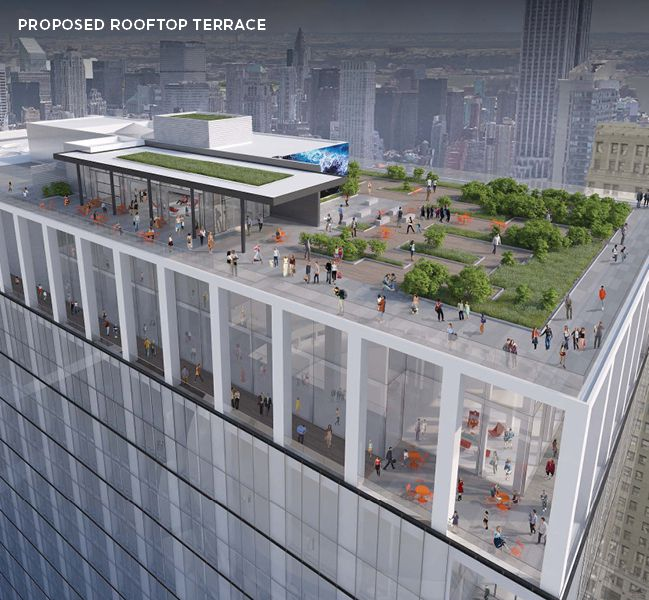 New Looks At 2 Penn Plaza S Forthcoming Revamp Curbed Ny
