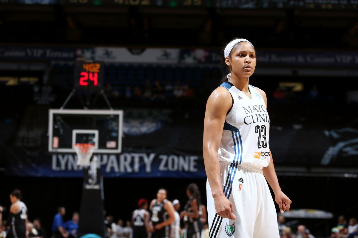 Maya Moore stood alone as the most dominant scorer in the league this season.