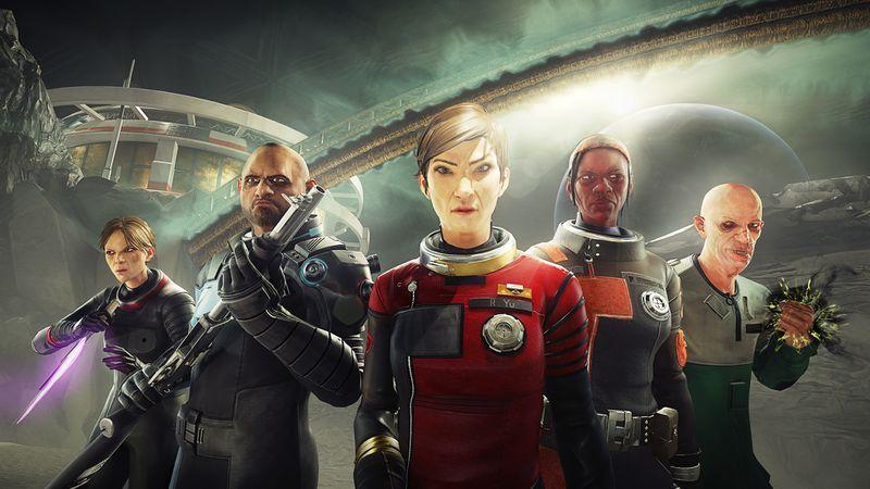 The heroes of Prey Mooncrash