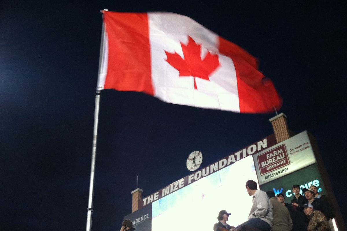 With the addition of MSU's first two Canadians, things are changing around the always whimsical Left Field Lounge