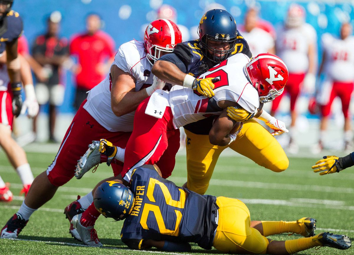 NCAA Football: Youngstown State at West Virginia