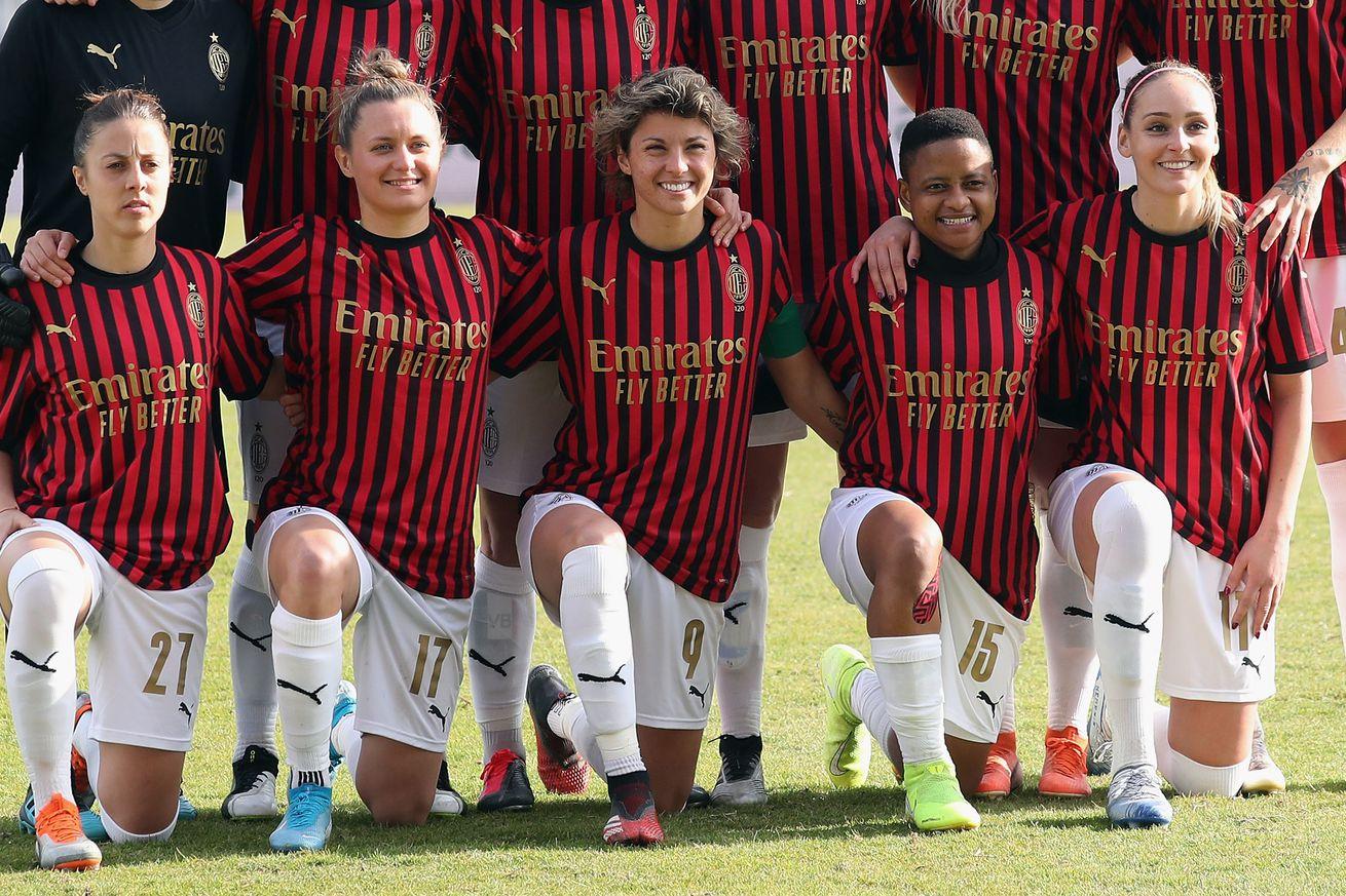 AC Milan Women's Team Will Have An Independent Shirt Sponsor; No Emirates