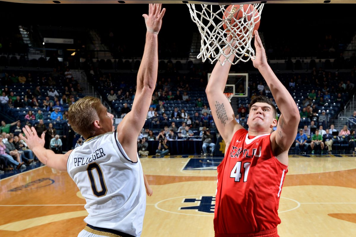 NCAA Basketball: Seattle at Notre Dame