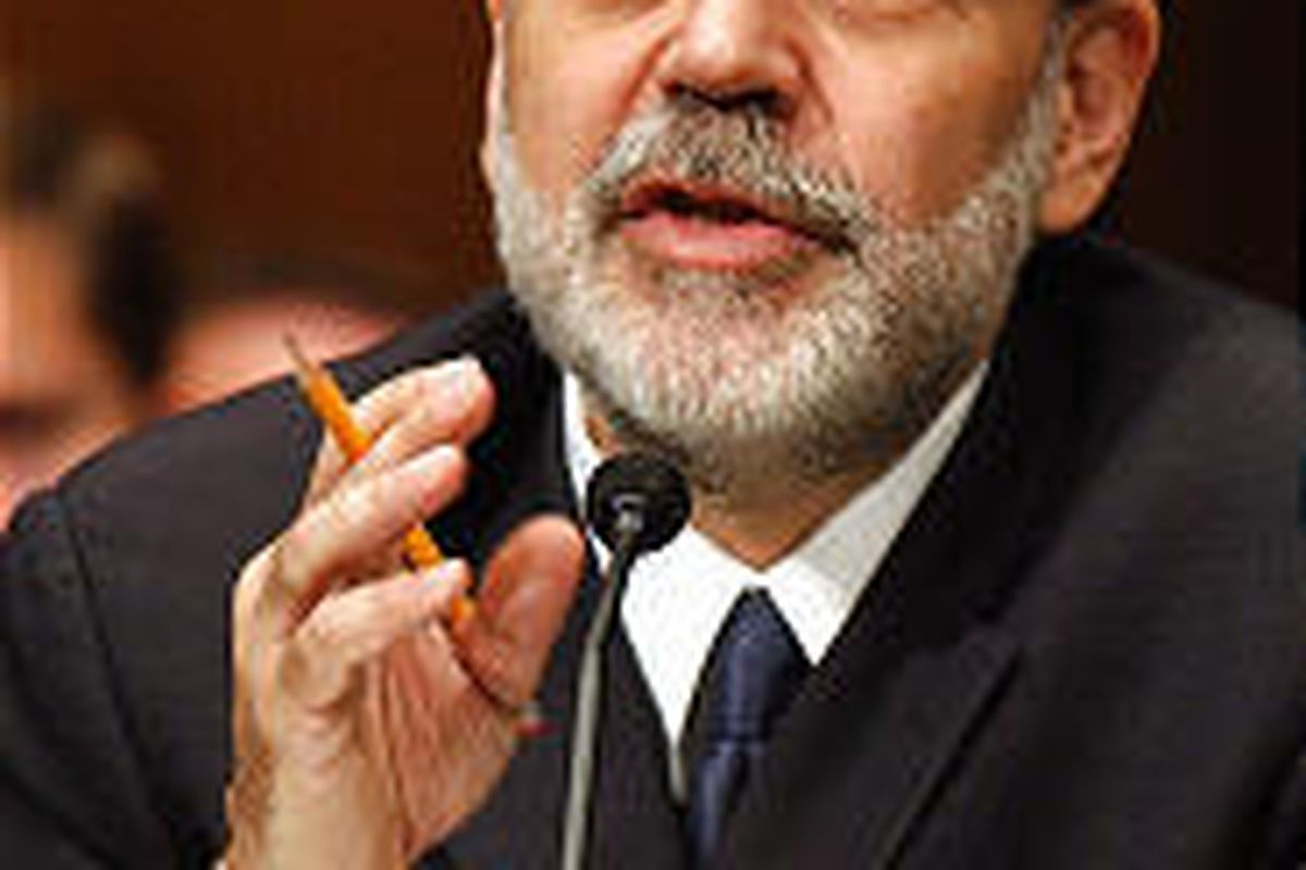 Ben Bernanke gets a favorable reception before the Senate Banking Committee on Capitol Hill Tuesday.